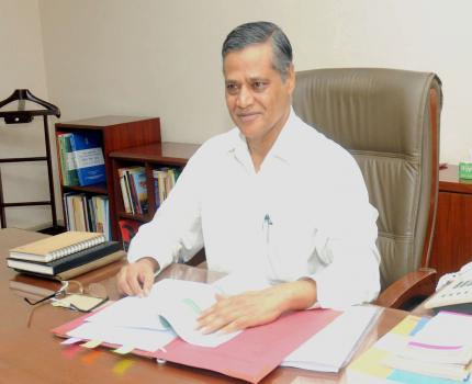 Dr. Anup K. Pujari taking charge as a Secretary of Ministry of Micro, Small & Medium Enterprises, in New Delhi